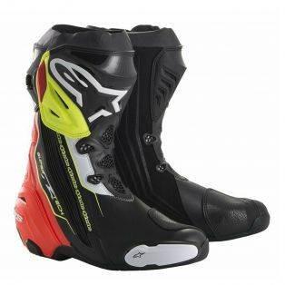 Supertech R Boot Black/Red/Fluo Yellow