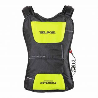 Back Link backpack airbag Black/Fluo Yellow