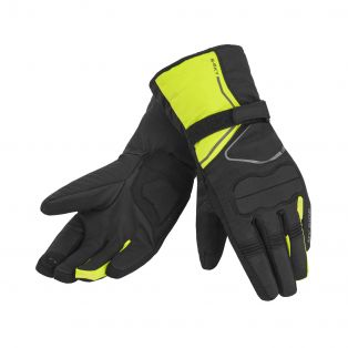 Starsky WP motorcycle gloves for ladies Black/Fluo Yellow