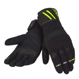 Voyager Lady women's motorcycle gloves Black/Fluo Yellow