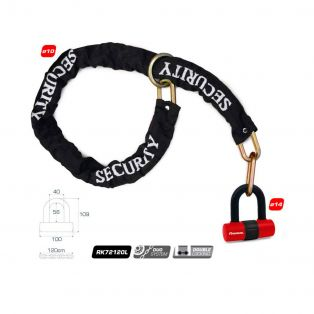 Noose chain with padlock