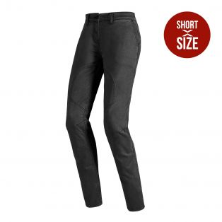 Boston Short motorcycle trousers for lady Black