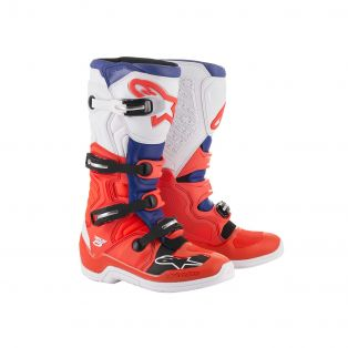 Tech 5 Boots Fluo Red/Blue/White