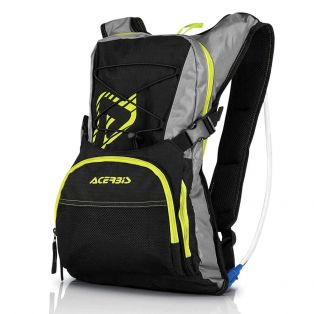 H2O Backpack Black/Yellow