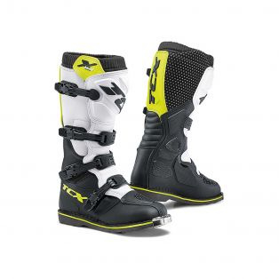 X-Blast Boots White/Black/Yellow Fluo