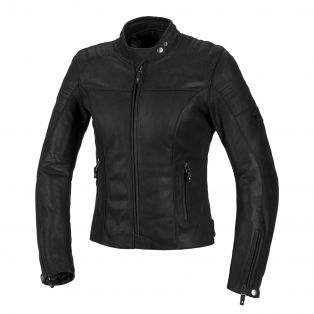 Revolver Lady Leather Jacket Black