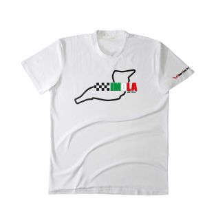 Temples Of Speed T-shirt Imola White