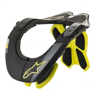 Bns Tech-2 Black/Yellow Fluo