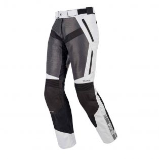 Motorcycle summer trousers Air Trail Aqvadry Ice/Anthracite/Black