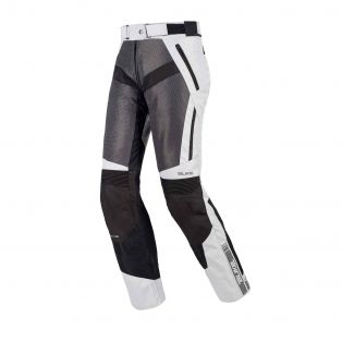 Lady Motorcycle summer trousers Air Trail Aqvadry Ice/Anthracite/Black