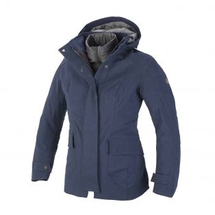 Montenapoleone Jacket, Aqvadry Cee for lady Blue Navy