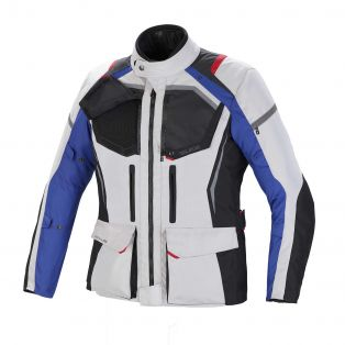 Giacca Touring Wander Waterproof Ghiaccio/Antracite/Blu