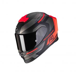 Exo-R1 Air Helmet Orbis Matte Black/Red