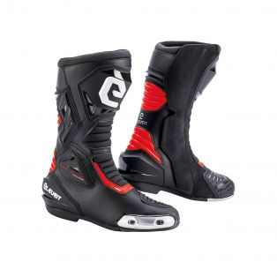 Sp-01 CE Boots Black/Red Fluo