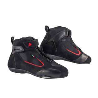 Ventex Air Motorcycle Shoes Black/Red