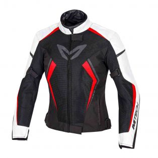 Speed Flow Jacket - Lady fit White/Red/Black