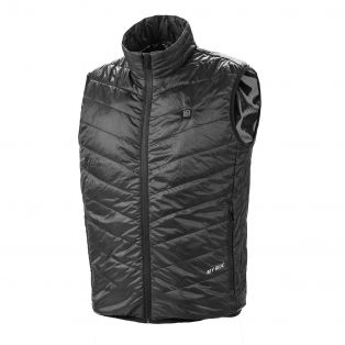 Thermo Fire Heated quilted vest Back