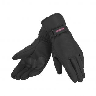 Warmsafe WP women's motorcycle gloves Black