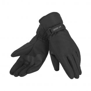Warmsafe WP motorcycle gloves Black