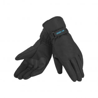 Warmsafe WP kids motorcycle gloves Black