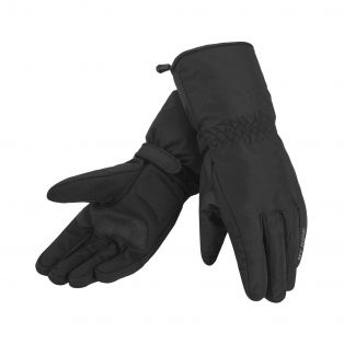 Superwarm WP motorcycle gloves Black