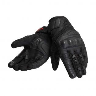 Tempest Motorcycle gloves for ladies Black/Black/Black