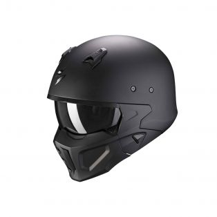 Casco Covert-X Nero Opaco