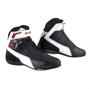 Drift Air Motorcycle shoes Black/White/Black