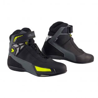 Motorcycle shoes Drift Aqvadry Black/Fluo Yellow/Anthracite