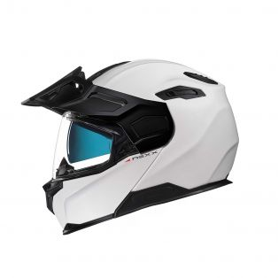 X.Vilijord flip-up helmet White