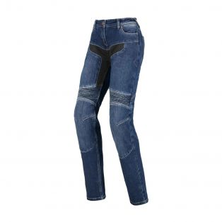 Track Motorcycle Trousers for Ladies Stone Washed