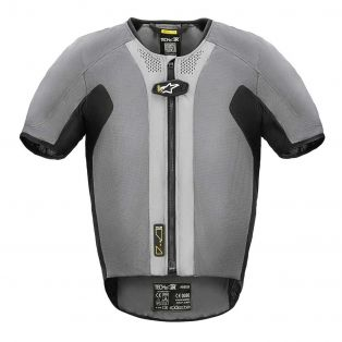 Gilet Airbag Tech-Air 5 system Grigio Scuro/Nero