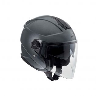 HP3.71 open face helmet Metal Titanium