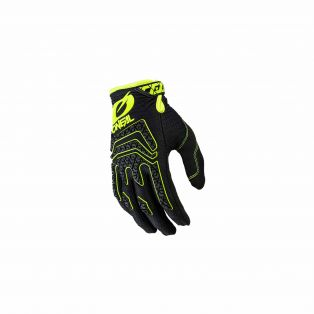 Sniper Elite MY21 Motocross gloves Black/Fluo Yellow