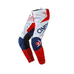 Element Factor Off-Road pants White/Blue/Red