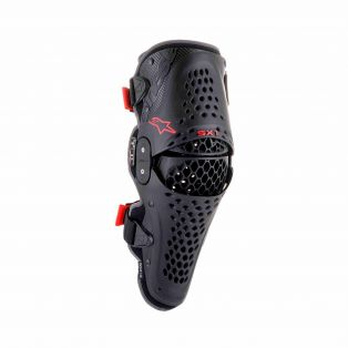 SX-1 V2 KNEE PROTECTOR Black/Red