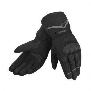 Hutch WP motorcycle gloves Black/Black