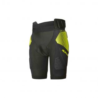 Soft Rush Pants Black/Fluo Yellow