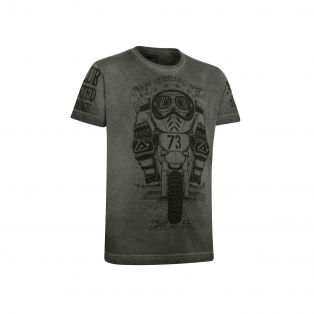SHIELD T-SHIRT FOR KIDS Graphite grey